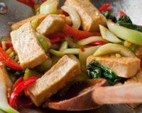 Légumes et tofu