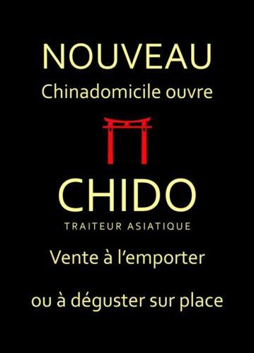 CHIDO traiteur chinois a domicile