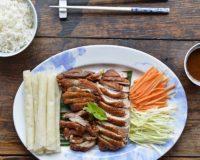 Plats chinois à domicile Canard roti désossé