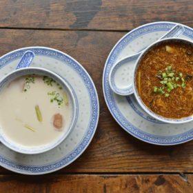 Plats chinois à domicile Potages