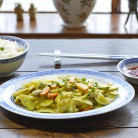 Plats chinois à domicile